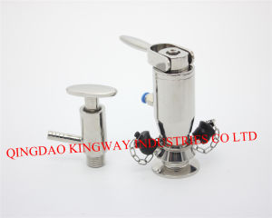 Sanitary Turning Handle Type Welded Sampling Valve. pictures & photos