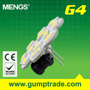 Mengs® G4 4W LED Bulb with CE RoHS SMD, 2 Years′ Warranty (110130039)