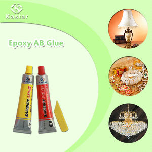 Non Flammable Ab Epoxy Adhesive 1: 1 for Lighting pictures & photos