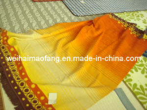 Woven Cotton/Polyester Blended Throw (NMQ-CAT004) pictures & photos