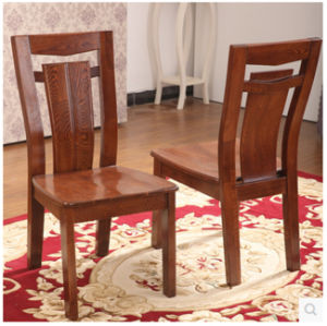 Modern Design Ash Wood Dining Table and Chair Set pictures & photos