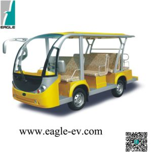 Electric Passenger Vehicle, 11 Seat, 11 Seats, 72V System, 12PCS 185ah T105 Batteries, 400A Controller, Max. Range of 115kms pictures & photos