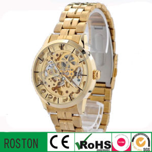 Good Price Skeleton Automatic Mechanical Watch pictures & photos