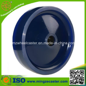 "High Quality Ball Bearing 8"" Solid PU Wheel pictures & photos"