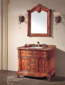 Solid Wood Classical Bathroom Vanity (ADS-623) pictures & photos