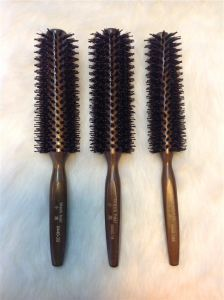 Boar Bristle Hair Brush Professional Top Quality (F015) pictures & photos
