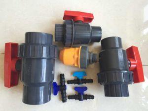 High Quality China Drip Irrigation PVC Single Union Ball Valve pictures & photos