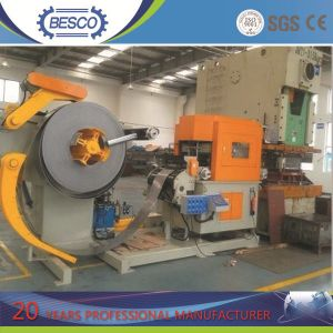 CNC Servo 3 in 1 Straightener Feeder and Uncoiler pictures & photos