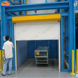 Hydraulic Freight Elevator with Full Mesh pictures & photos