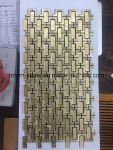 Discount Cheap Glass Marble Natural Stone Mosaic Floor Bathroom Tiles Supplies pictures & photos