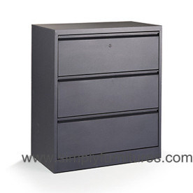 3 Drawers Metal Lateral File Cabinet (SI6-LCF3) pictures & photos