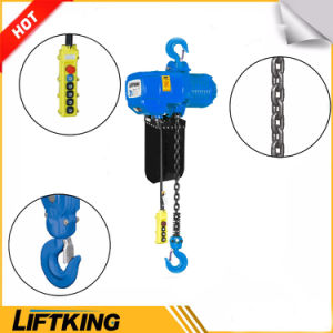 Liftking 5t Kito Type Electric Chain Hoist with Hook Suspension pictures & photos