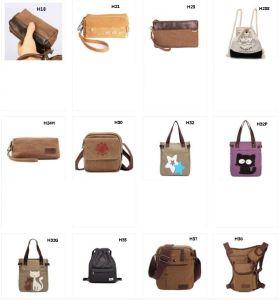 Vintage Canvas Satchel Messenger Shoulder Crossbody Sling Bag Kid′s Backpack Men′s Backpack Women′s Backpack pictures & photos