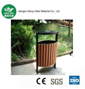 Garden furniture Eco-Friendly Durable WPC Outdoor Dustbin pictures & photos