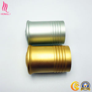 Lightcyan/Golden Aluminum Lids for Lotion Bottle pictures & photos