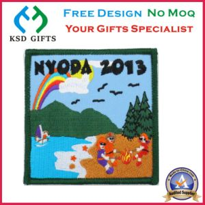 100% Embroideryed Flag Patches for Clothing Decoration with No MOQ pictures & photos