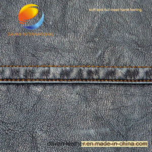 High Quality Garment Fabric of PU Synthetic Leather pictures & photos