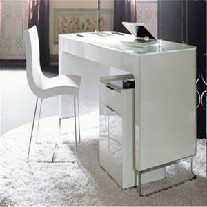 Tw CE Approved Acrylic Artificial Stone CEO/Executive/Boss White Office Desk/Table Design pictures & photos