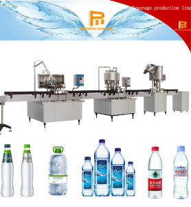 Simple and Effective Liquid Mineral Water Washing, Filling and Capping Production Line pictures & photos