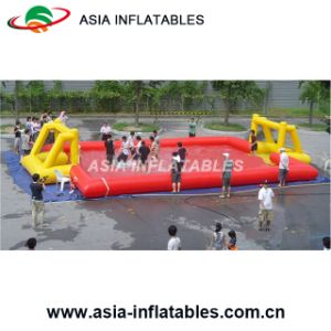 Beach Inflatable Volleyball Field, Commercial Rental Inflatable Volleyball Field pictures & photos