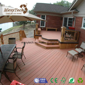 Whaterproof Plastic Wood Composite Decking WPC Boards for Garden Terrace pictures & photos