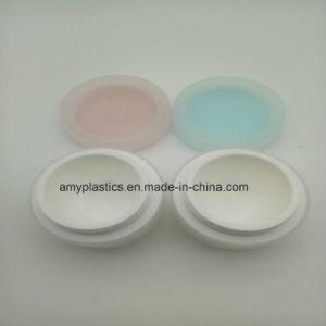Hot Sale Plastic Cream Jar with Lid pictures & photos