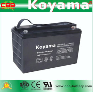 Dcg135-12 12V135 Hattery for Electric Vehicle & Recreational Vehicle (RV) pictures & photos