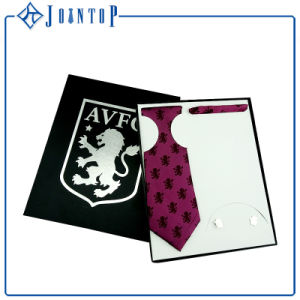 OEM Logo Design Polyester Ties Gift Box Packing pictures & photos