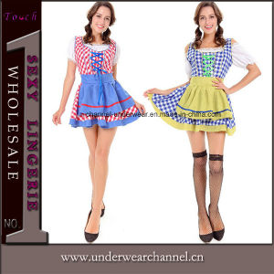 Halloween Adult Sexy Beer Maid Fancy Bavarian Party Costumes (8926) pictures & photos