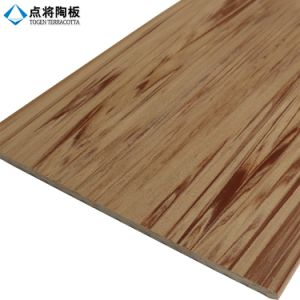 Customized 3D Inkjet Wooden Grain Terracotta Wall Panel for Building pictures & photos