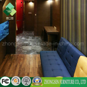 Luxury Modern Style Wood Bedroom Set of Hotel Furniture (ZSTF-01) pictures & photos