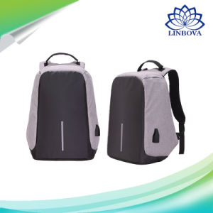 Anti-Theft Backpacks USB Charging Men Business School Backpack for Teenagers Laptop Bags pictures & photos