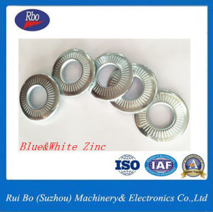 Stainless Steel Nfe25511 Single Side Tooth Steel Spring Lock Washer pictures & photos