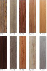 Best Price Waterproof Wood Grain Click PVC Flooring Tile pictures & photos