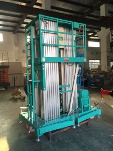 Triple Mast Aluminium Lift Table with Ce & ISO9001 pictures & photos