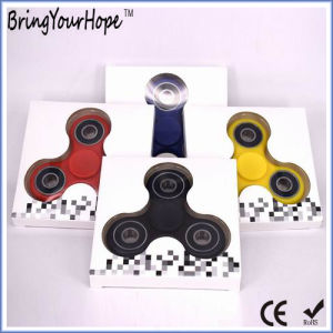 Stress Relief Fidget Toy Hand Spinner in Plastic (XH-HS-001) pictures & photos