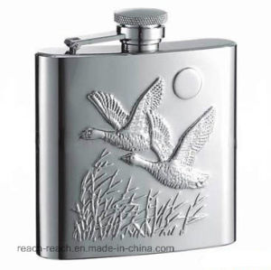 OEM Promotional Stainless Steel Hip Flask (R-HF020) pictures & photos