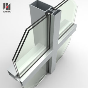 Double Low-E Exterior Building Glass Walls Panels Hidden Frame Glass Curtain Wall pictures & photos