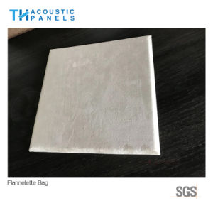 Polyester Fiber Decorative Fabric Covered Acoustic Panel for Hotel pictures & photos