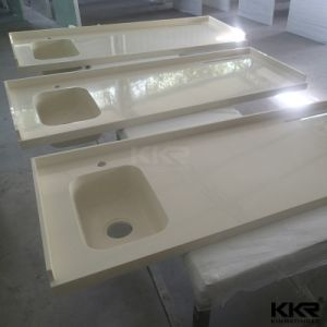 Customized Artificial Stone Kitchen Countertops for Projects pictures & photos