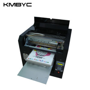 Byc DTG for T Shirt, Cake, Chocolate A3 Size 8-Channel High Speed UV LED Printing Machine pictures & photos