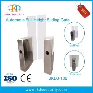 Bi Directional Turnstile Full Height Sliding Gate for Pedestrian Entrance pictures & photos