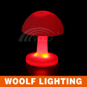 Color Rechargeabe Mood Light Cordless Atmosphere LED Table Lamp pictures & photos