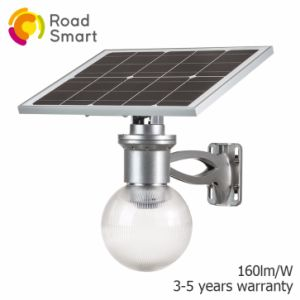 Moon Design Intelligent LED Solar Garden Light with Remote Controller pictures & photos