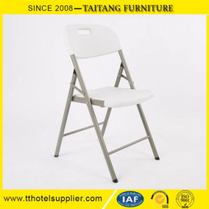 Foldable Furniture Outdoor Plastic Chair Wedding Convenient Folding Chair with Table pictures & photos