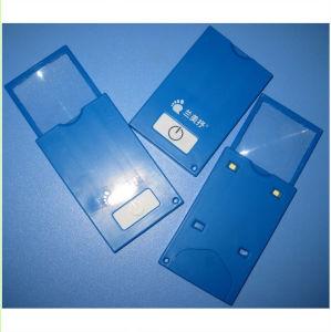 Pocket Size Promotional LED Light Card Magnifier Hw-212n pictures & photos