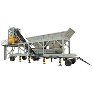 Mobile Concrete Mixing Plant (YHZS50)