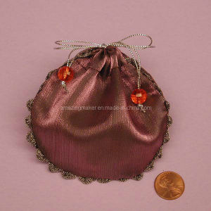 Round Organza Pouch with Frill (AM-OB032)