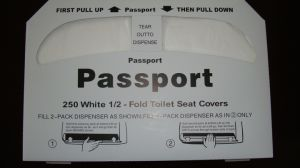 Disposable Paper Toilet Seat Cover Paper for Bathroom Accessories