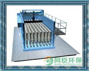 Standard Effluent Quality Class B to Class a: Tech Model Vertical Fiber Cloth Media Filter pictures & photos